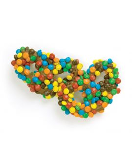 Asher Milk Gourmet Pretzel with M&M's 6lb *Fragile Item*