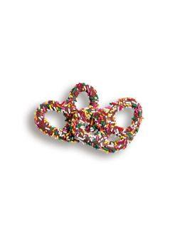 Asher's Milk Chocolate Covered Pretzels with Jimmies 7lb *Fragile Item*