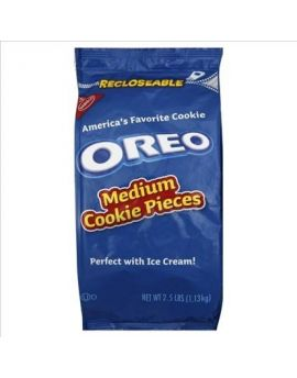 Oreo Crunch Medium Cookie Pieces 4/2.5lb Bags
