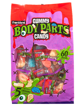 Frankford Gummy Body Parts 60ct bag