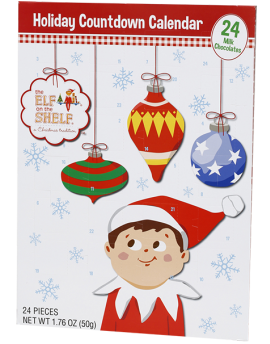 Elf on the Shelf Countdown Advent Calendar 12ct