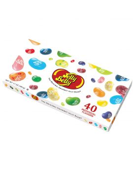 Jelly Belly 40 Flavor Gift Box 17oz 5ct