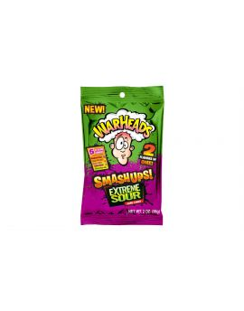 Warheads Extreme Sour Smashups 2oz Peg Bag 12ct