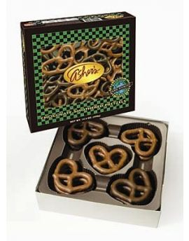 Asher Assorted Milk and Dark Chocolate Pretzel 14.4oz 12ct