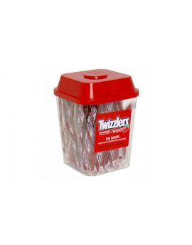 Hershey Twizzlers Strawberry Wrapped Canister 105ct