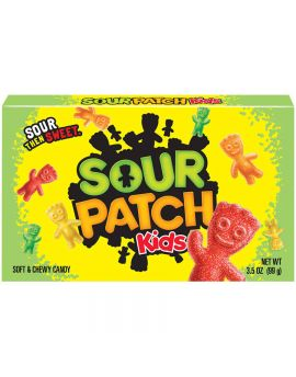 Sour Patch Kids 3.5oz Theater Box 12ct