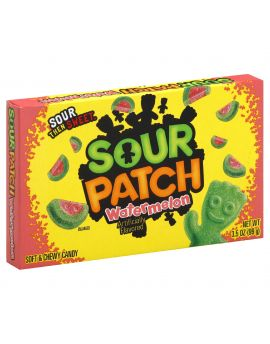 Sour Patch Watermelon 3.5oz Theater Box 12ct