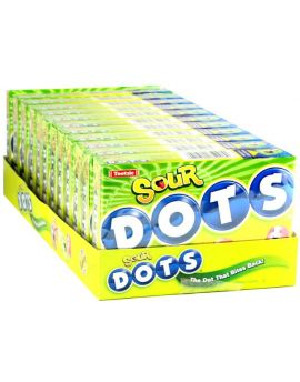 Tootsie Sour Dots 7.5oz Theater Box 12ct