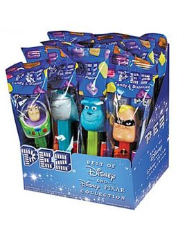 Pez Best Of Disney Pixar 12ct