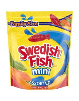 Assorted Mini Swedish Fish 1.8lb