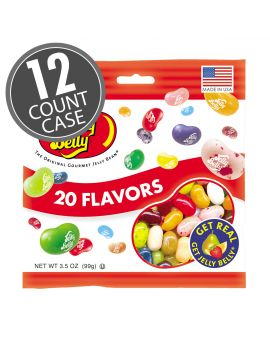 Jelly Belly 20 Flavor Bag 3.5oz 12ct
