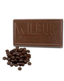 NOT AVAILABLE ESTIMATED 3/22/21 Wilbur Bronze Medal Dark Chocolate Coating 50lb