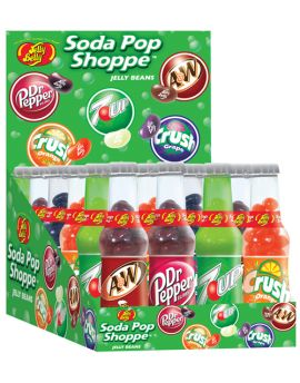 (Not Available by Manufacturer) Jelly Belly Soda Pop Shoppe 1.5oz Bottles 24ct