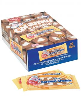 Goetze Caramel Cream 1.9oz Bar 20ct