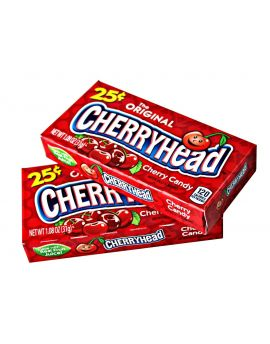 Ferrara Pan PrePriced $.25 Cherryhead Fruit Candy 1.08oz 24ct