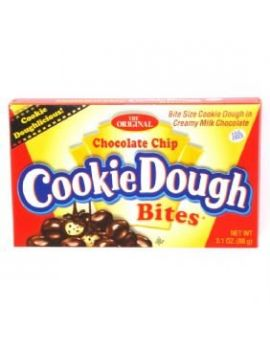 Taste of Nature Chocolate Chip Cookie Dough Bites 3.1oz Theater Box 12ct