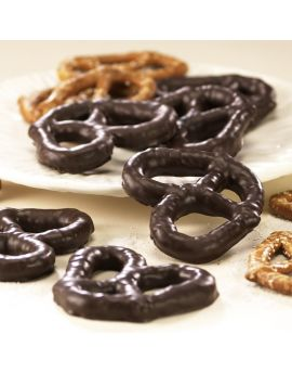 Asher Dark Chocolate Smothered Pretzels 7lb Box *Fragile Item*