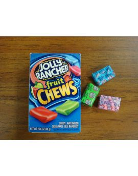Jolly Rancher Fruit Chews 2.05oz 12ct
