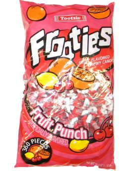 Tootsie Fruit Punch Frooties 360ct