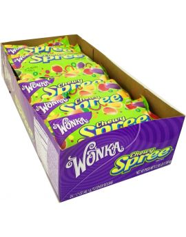 Wonka Chewy Spree 1.7oz 24ct