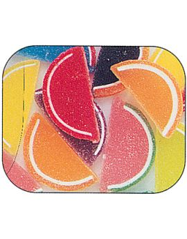 Boston Asst Fruit Slices Unwrapped 5lbs