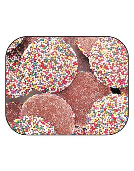 Guittard Milk Wafer with Nonpareils 20lb