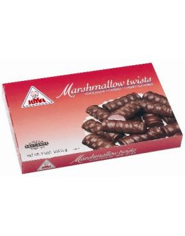 Joyva Dark Chocolate Covered Cherry Marshmallow Twist 5lb