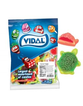 Vidal Gummi Filled Turtles 2.2 lb