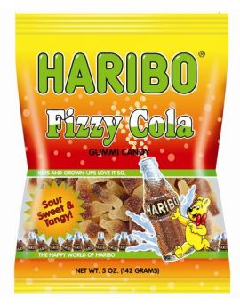 Haribo Fizzy Cola Bottles 5oz 12ct