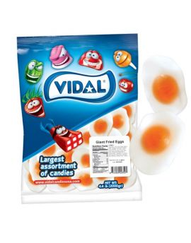 Vidal Gummi Giant Fried Egg 4.4lb
