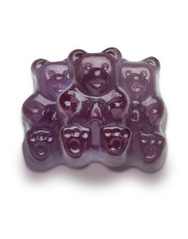 NOT AVAILABLE NO ETA  Albanese Gummi Bears Concord Grape Purple 5lb