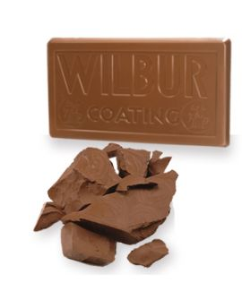 (Not Available by Manufacturer) Wilbur Guernsey Milk Chocolate Coating 50lb