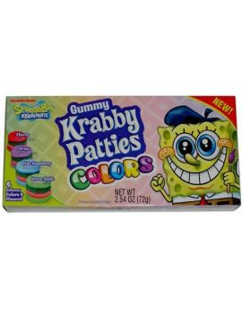 Krabby Patty Colors Theater Box 12ct
