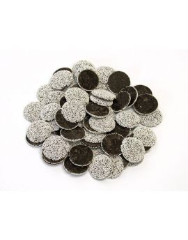 Asher Dark Chocolate Nonpareils White Seeds 8lb