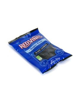 Red Vines Sugar Free Black Licorice 5oz Bag 12ct