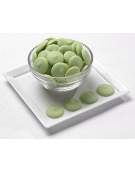 NOT AVAILABLE ESTIMATED MARCH 2021 Merckens Light Green Melting Wafers 25lb