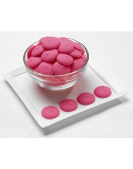 NOT AVAILABLE NO ETA  Merckens Pink Melting Wafers 25lb