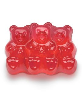 Albanese Gummi Bears Fresh Strawberry 5lb