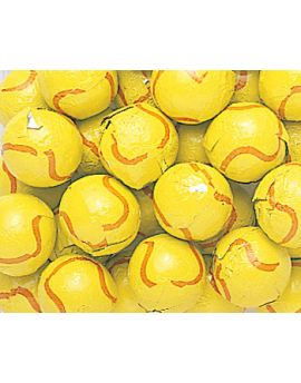 Thompson Foiled Chocolate Tennis Balls 10lbs