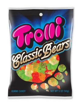 Trolli Classic Gummi Bears 5oz Bag 12ct