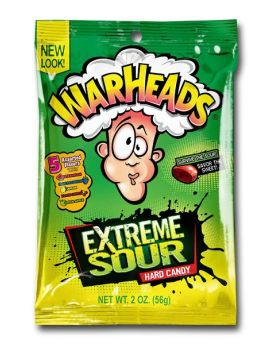 Warhead 2oz Peg Bag 12ct