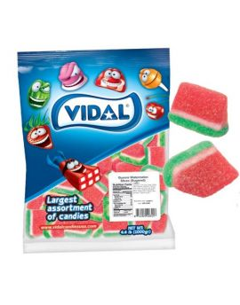 Vidal Gummi Watermelon Slices 4.4lb