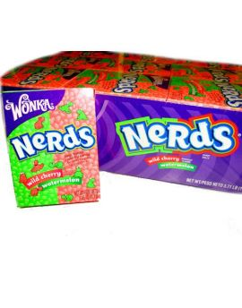 Wonka Nerds Watermelon Wild Cherry 36ct