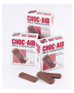 Chocolate Band Aids 12ct Pack
