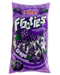 Tootsie Frooties Grape 360ct