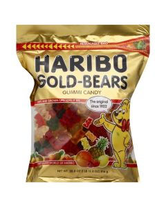 Haribo Gold Bears 28.8oz Resealable Bag