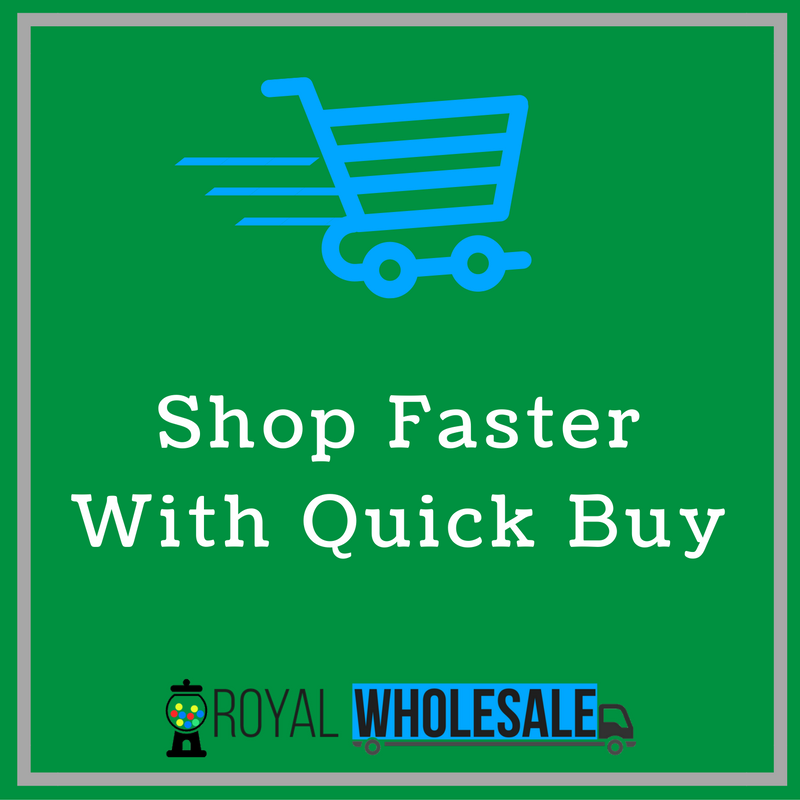 Place Orders Faster With Our Quick Buy Feature
