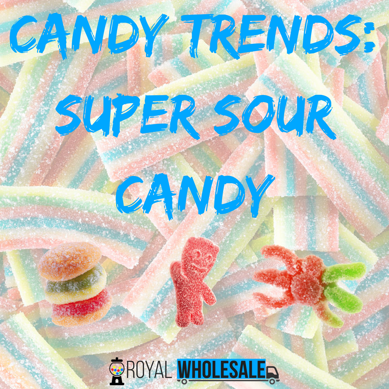 Candy Trends: Super Sour Candy
