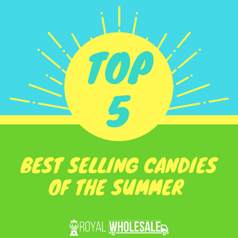 Top 5 Best Selling Candies of the Summer