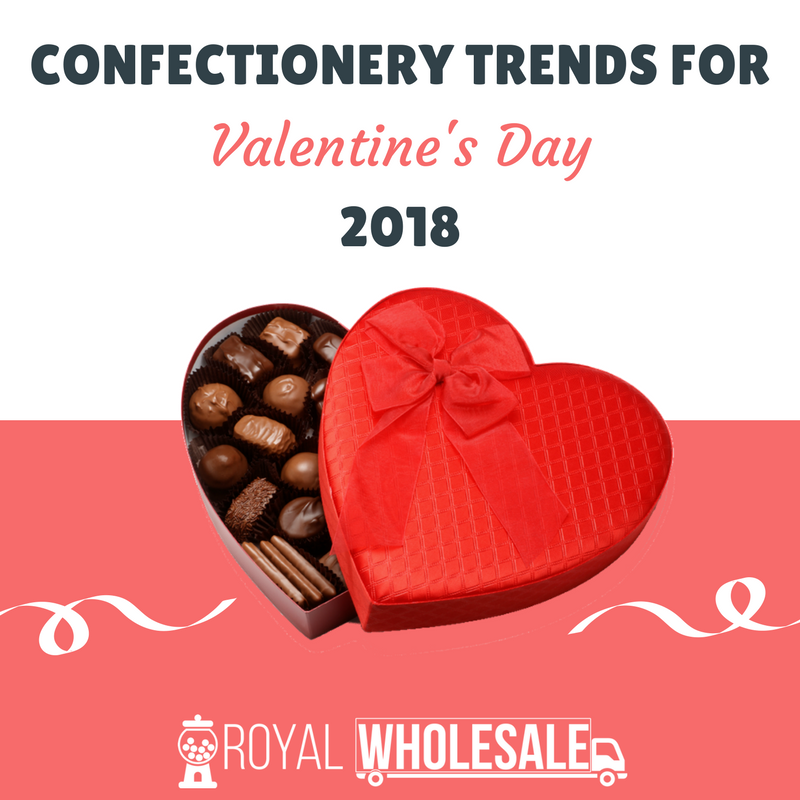 Confectionery Trends For Valentine's Day 2018